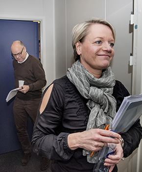 Lone Hermann og Henrik Kjær Christensen
