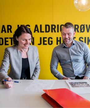 Heidi Lund Sørensen og Martin Henriksen