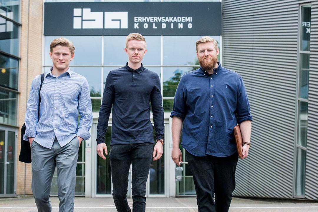 Sebastian Solomon, Claus Diedrichsen og Morten Bandsholm