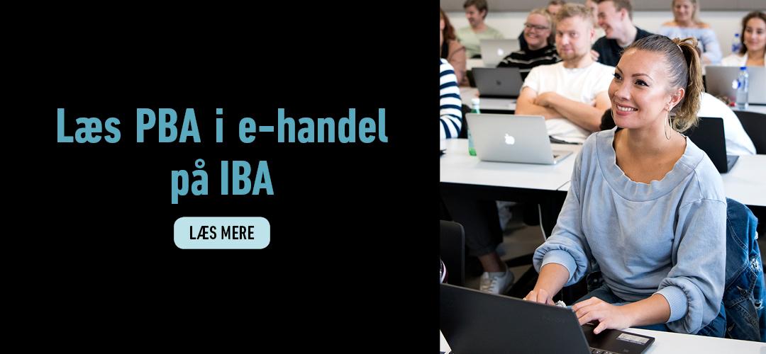 Du kan læse PBA i e-handel på IBA. Læs mere her.
