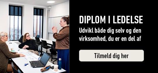 Diplom i ledelse. Tilmeld dig her