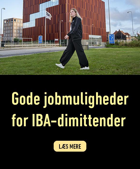 IBA-dimittender har gode job muligheder. Læs mere her.