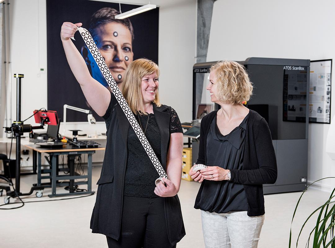 Birgitte Lærke Andersen samme med Marketing Manager, Katja Ramsing