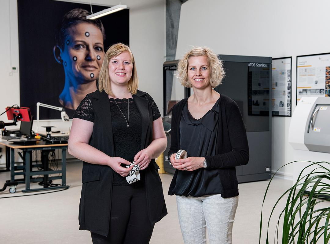 Stemningsbillede af Birgitte hos Zebicon