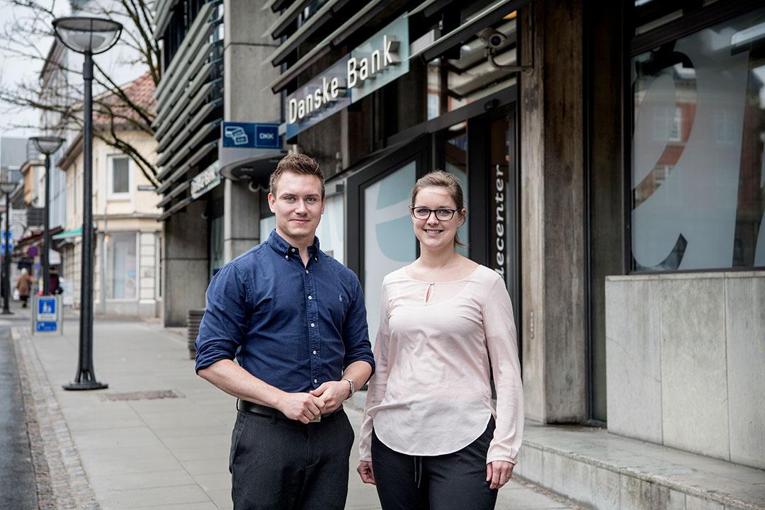 Mikkel Ringtved Jensen og Malene Herløv Aagaard