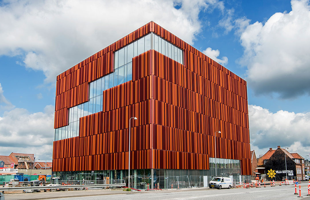 Her ses den nye bygning, som IBA flytter ind i.