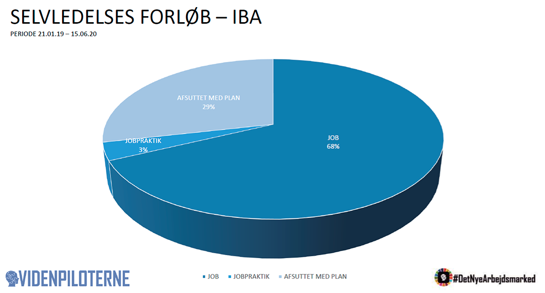 Illustration af selvledelses forløb på IBA