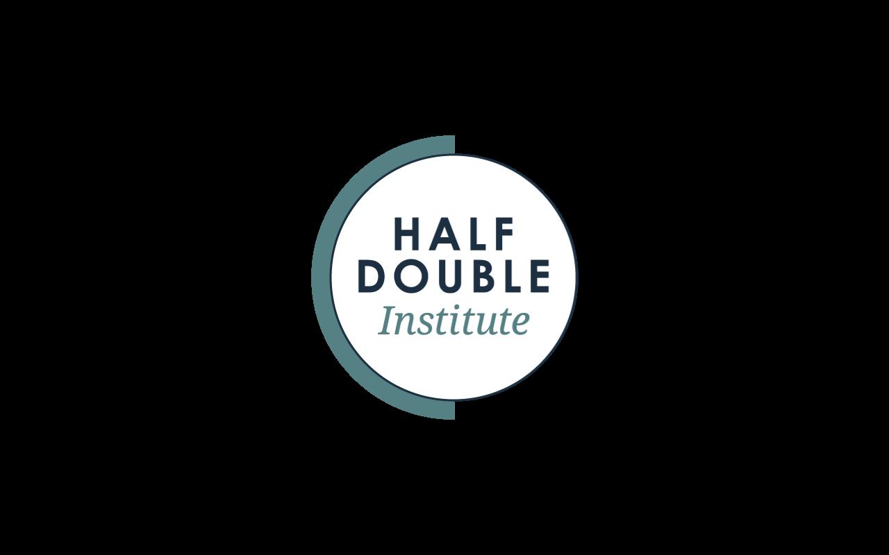 LOGO: Half Double institute