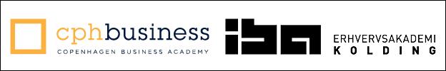 LOGO: Copenhagen business academy og IBA erhvervsakademi Kolding